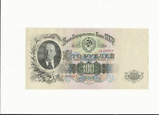 Russia 100 Rubles 1947 Uncirculated.