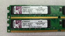 ✅KINGSTON - KVR667D2N5K2/4G - 2x2GO PC2-5300 DDR2 667MHZ CL5