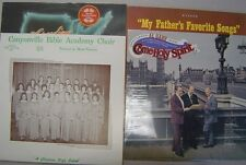 4 Pentecostal LP Records - AG Garr, Canyonville Bible Academy, Richard Roberts