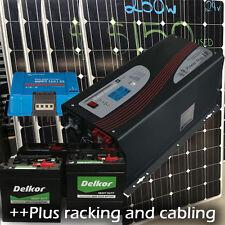 24v Off grid system 2kw solar | 3000w inverter/charger | 50amp Victron reg | ...