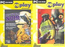 Oddworld Abe's Exoddus & discworld noir