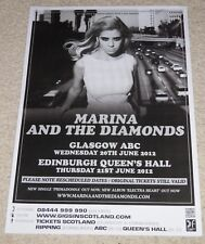 MARINA AND THE DIAMONDS - live music show memorabilia concert gig tour poster