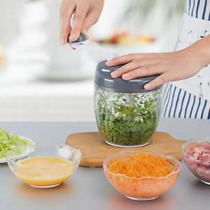 Food Speedy Chopper Shredder Onion Garlic Fruit Cutter- Vegetable