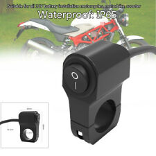 12V 10A Motorcycle Handlebar Light On Off Switch Scooter ATV Headlight Fog Spot
