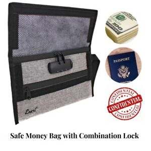 Money Bag With Lock