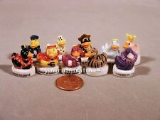 French Feve Porcelain Miniature Duck Figures Cute and Fun