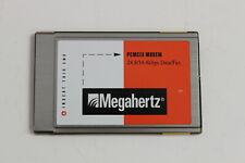 MEGAHERTZ CC3288i PCMCIA MODEM 28.8/14.4 KBPS DATA/FAX