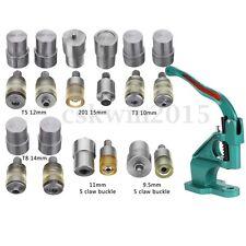 Manual Claw Clasp Snap Fastener Dies Hand Pressure Pressing Clamp Machine