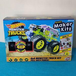 Hot Wheels Torque Terror Monster Truck Bladez Maker Kitz 1:32 Scale 4x4  NEW