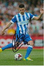 BRIGHTON HAND SIGNED DANNY HOLLA 6X4 PHOTO 1.