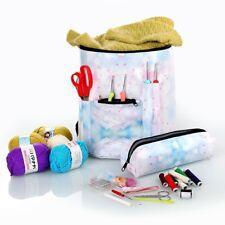 Premium Large Knitting Tote Bag Yarn Storage Bag For Crochet and Knitting Yarn