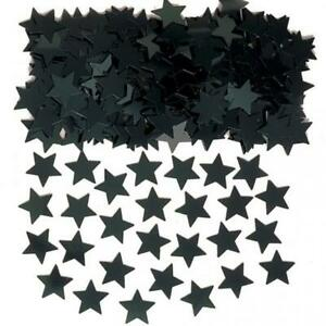 Stardust Black Stars Table Confetti Sprinkles 14g x 3