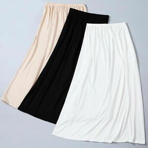 Against Through Anti-static Thin Section Silk Inside Take Long Render Skirts