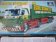 Italeri 708  Eddie Stobart Ltd Scania Truck and Trailer SEMI TRACTOR 1:24