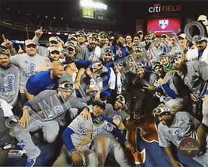 Kansas City Royals Eric Hosmer And Team Celebrate Winning the 2015 World Series 8x10 Photo Picture