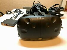 HTC Vive Virtual Reality Headset, Link Box and Cables