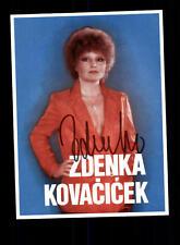 Zdenka Kovacicek Autogrammkarte Original Signiert ## BC 59896