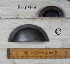 Arrière fil lisse fonte Tasse Poignée - 102 mm