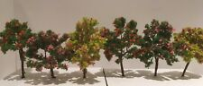 6 X 8cm Model Tree OO Gauge 1:76  Village Farm Country Town Hornby Trainset