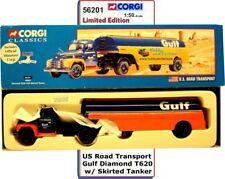 CORGI 56201 GULF Diamond T620 Skirted Tanker 1:50 Scale US Road Transport Ltd Ed
