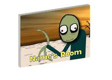 SALAD FINGERS PERSONALISED WOODEN DOOR PLAQUE