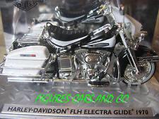 MOTO  1/24 HARLEY DAVIDSON FLH ELECTRA GLIDE 1970