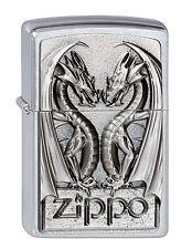 Zippo Feuerzeug Twins Dragon Heart, Collection Spring 2012 Nr. 2002728 Neu