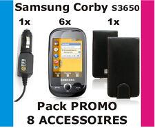 SAMSUNG CORBY S3650 Pack de 8 accessoires - PRIX PROMO