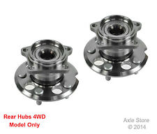 2 New Wheel Hub Bearing Assemblies Pair Left & Right Fit RAV4 4WD Rear Pair