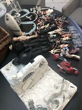 Vintage Lot Of Star Wars Action Figures and Action Fleet accessories!