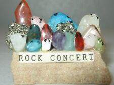 Rock Concert Figurine Novelty Pet Rock