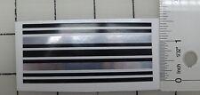 Iverson muscle bike Black-White-Chrome seatpost  decal