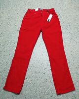 Kord Schlaghose von Esti Jeans Gr 34-44 Damen 70s Style rot neu K973