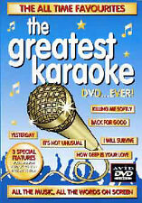 DVD:THE GREATEST KARAOKE DVD…EVER! - NEW Region 2 UK