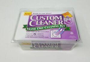 Custom Cleaner Maison Sec Nettoyage Kit Jusqu'À 16 Garniture Emballé NOS Laine