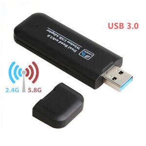 1200Mbps 5G Adaptador WiFi para PC o Portatil antena, receptor USB wireless LAN