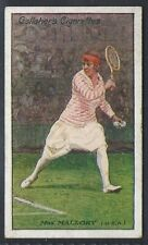 GALLAHER-LAWN TENNIS CELEBRITIES-#43- MRS MALLORY