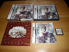 Nintendo DS Game: Radiant Historia (Complete with Soundtrack!) Limited Edition!!