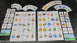 Learning phonics, Letters and Sounds ~ A4 Poster OR flash cards 5.5cm x 4cm each