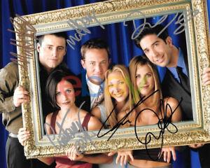 Friends Cast Signed 8x10 Autographed Photo reprint