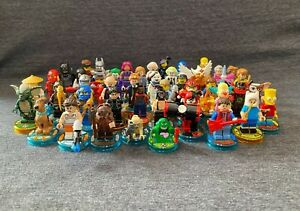 !!!!!! Lego Dimensions Minifigures w/ Game Tag Disc !!!!!!
