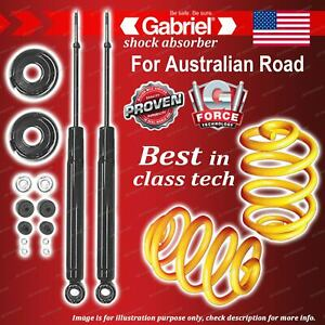 Rear Gabriel Ultra Shocks + Lowered King Springs for Nissan Bluebird 910 Sedan