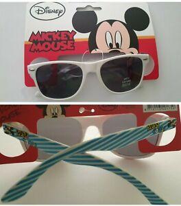 """Disney Mickey Mouse""""SUPER COOL"""" Sonnenbrille Kinder Brille Sonnenschutz UV400"""
