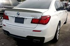 Painted Process Trunk Spoiler for BMW F01 A Type 7-Series Sedan 2009-2015