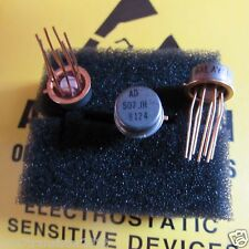 AD507JH ANALOG DEVICES Wideband Fast Slewing General Purpose OP Amp 8 pin Gold