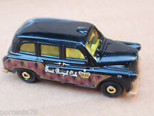 2012 Matchbox AUSTIN FX LONDON TAXI 65/120 MBX Old Town LOOSE Black FIRST ROYAL