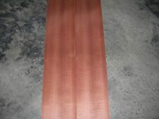 Makore Wood Veneer. 7 x 99, 3 Sheets.
