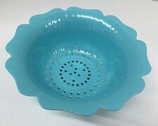 Melamine Strainer Colander Bowl Blue Small Lot of 3 (NEW)