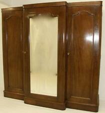 Mahogany Victorian Antique Armoires & Wardrobes