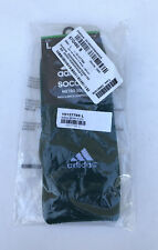 Adidas Lightweight Soccer Arch & Ankle Compression Metro Socks Green Sz Large